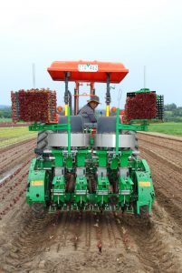 Bulmer Farms Transplant Seeder